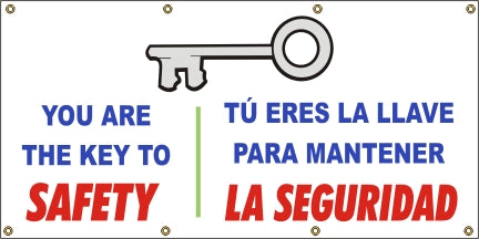 A508 You Are the Key to Safety (Spanish)