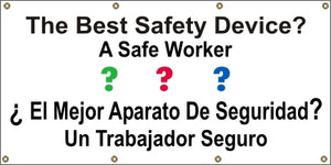 A511 The Best Safety Device? A Safe Worker (Spanish)