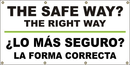 A513  The Safe Way?  The Right Way (Spanish)