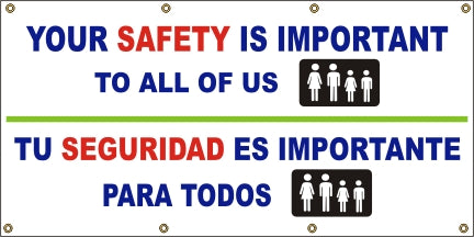A525 Your Safety is Important to All of Us (Spanish)