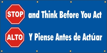 A522 Stop and Think Before You Act (Spanish)