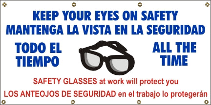 A539 Keep Your Eyes on Safety (Spanish)