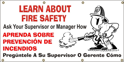 A544 Learn About Fire Safety (Spanish)