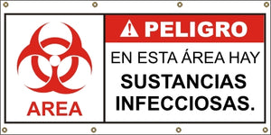 A573 Danger - Infectious Substances (Spanish)