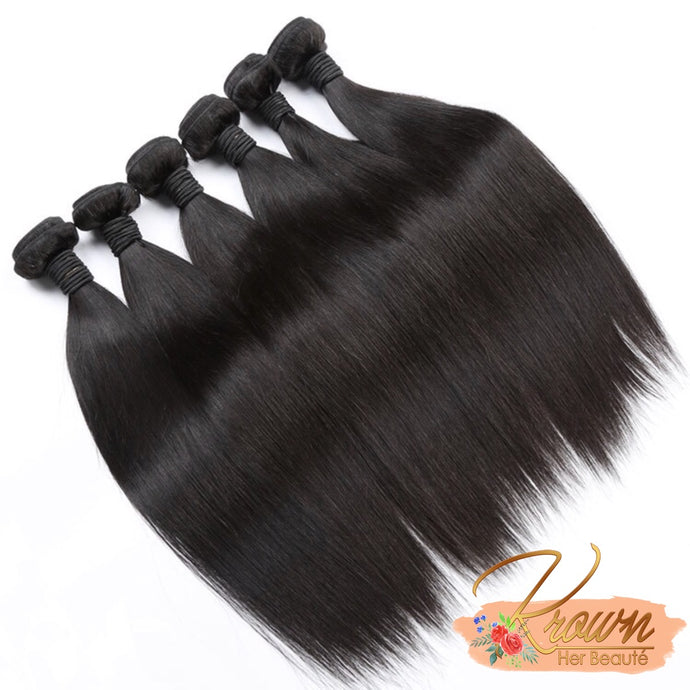 100% Virgin Brazilian Hair - Straight