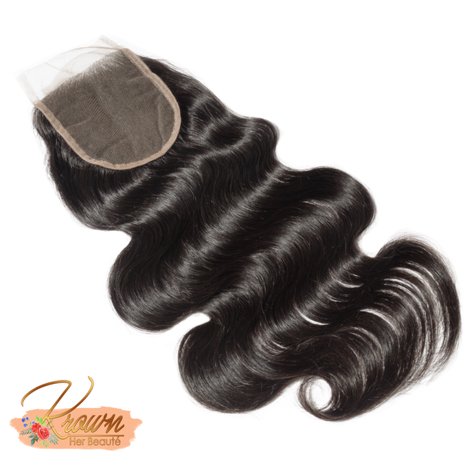 100% Virgin Brazilian Hair Lace Closure