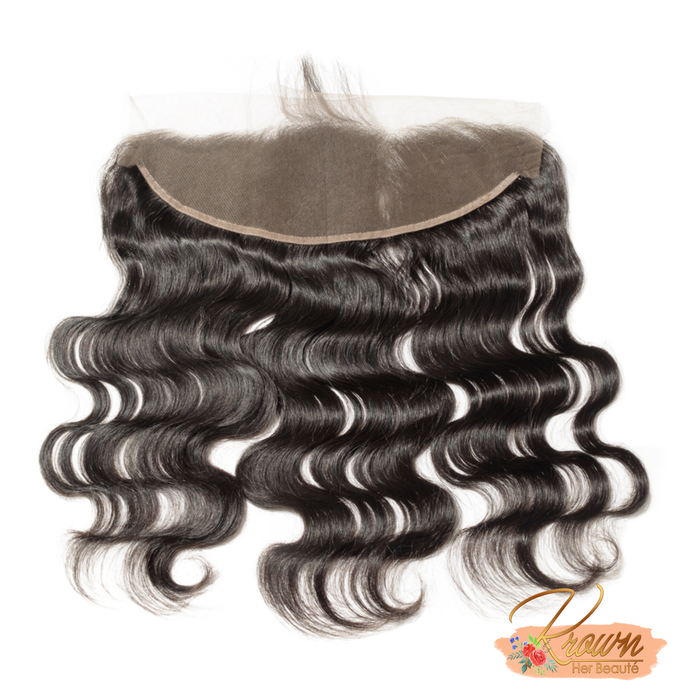100% Virgin Brazilian 13x4 Lace Frontal - Body Wave
