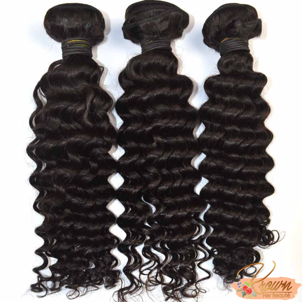 100% VIRGIN BRAZILIAN HAIR - CURLY
