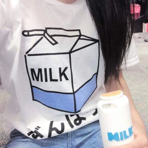 """MILK BOX"" T-SHIRT"