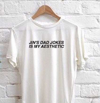 """JIN'S DAD JOKES"" T-SHIRT"
