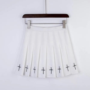 """CROSS"" SKIRT"
