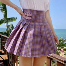 """PREPPY PURPLE"" SKIRT"
