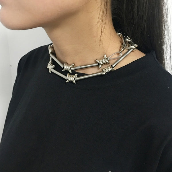 """BARBWIRE"" CHAIN"