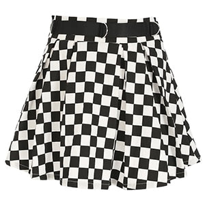 """CHECKERS"" SKIRT"
