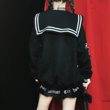 """HARAJUKU"" EMBROIDERED SWEATER"