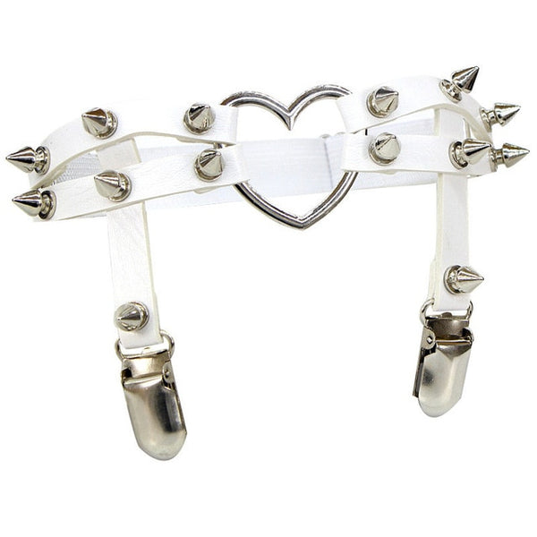 """SPIKEY HEART"" THIGH GARTER"