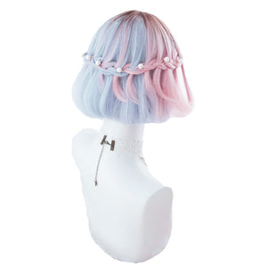 """COTTON CANDY GRADIENT"" WAVEY WIG"