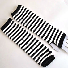 """STRIPED"" ARM WARMERS"