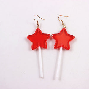 """SUCKER"" EARRINGS"