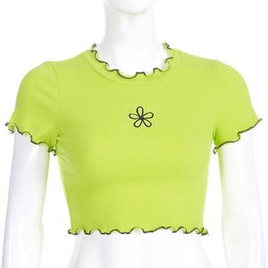"""FLOWER POWER"" CROP TOP"