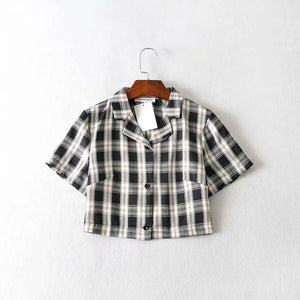 """KEEP IT PLAID"" BUTTON UP SHIRT"