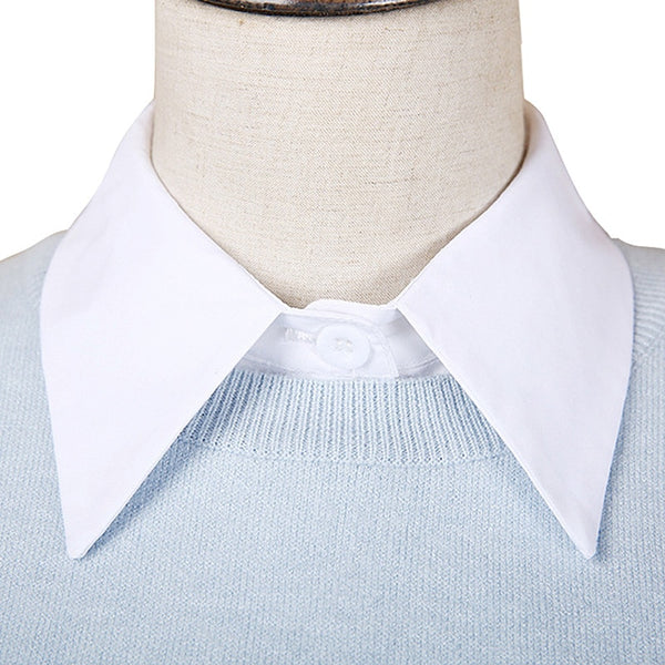 """SLICK"" FAUX COLLAR"