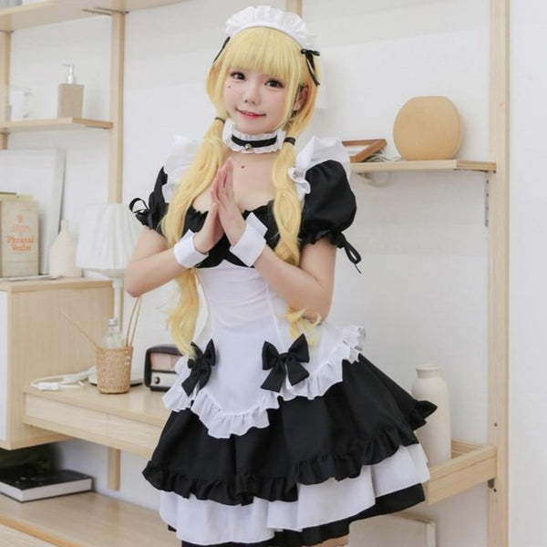 """FRENCH BOW"" MAID COSTUME"