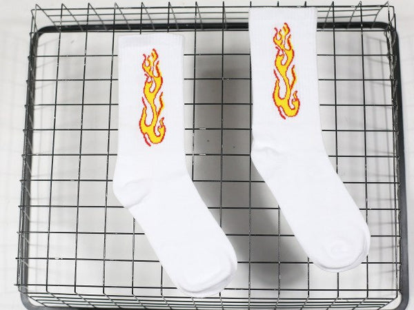 """ON FIRE"" SOCKS"