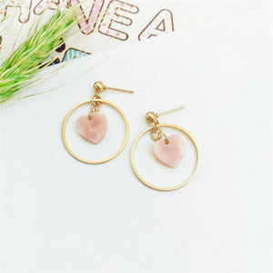 """CIRCLE OF LOVE"" EARRINGS"