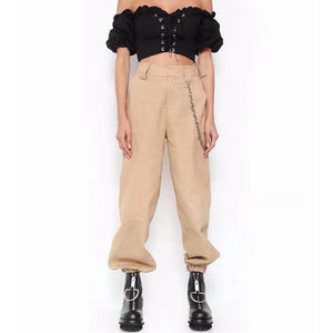 """CHAIN"" TROUSERS"