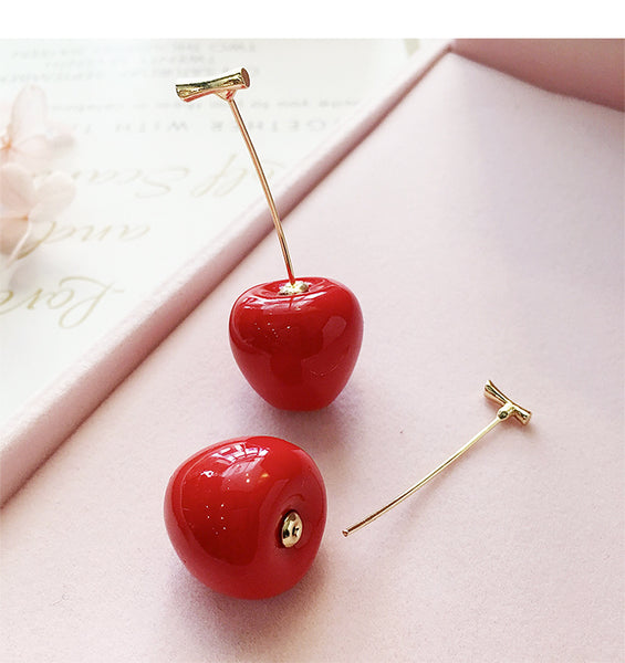 """CHERRY"" DROP EARRINGS"