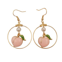 """PEACHY"" EARRINGS"