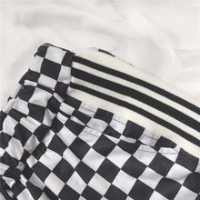 """CHECKERBOARD"" PANTS"