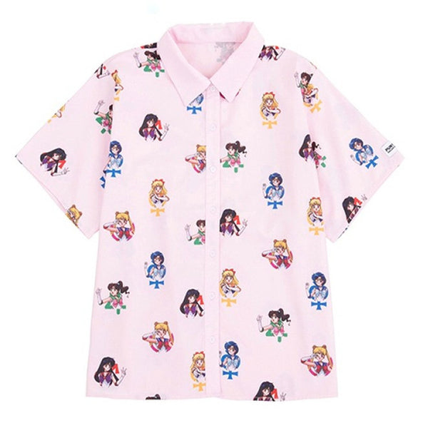 """SAILOR MOON"" BLOUSE"