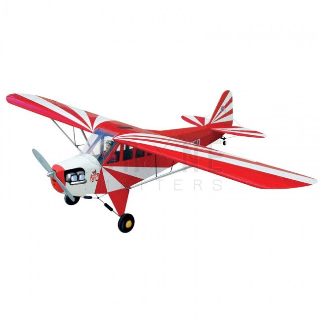 1/4 Clipped Wing Cub (Red Sunburst)