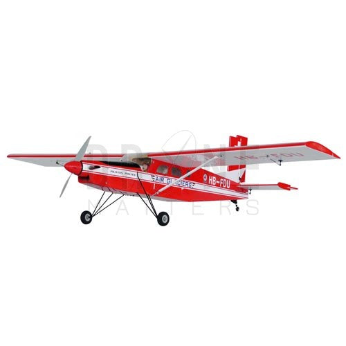 Pilatus PC-6 Porter 40 - ARF (Red)