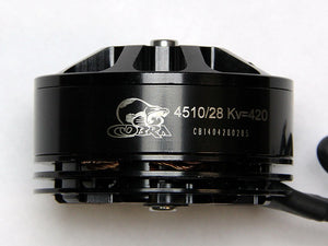 Cobra 4510 420kv 4-6S Brushless Motor