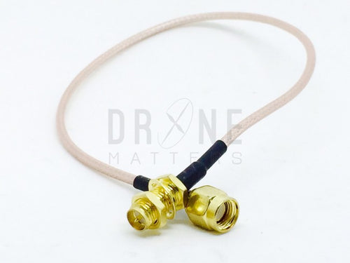 30cm Straight Male to Straight Female RP-SMA Extension Cable