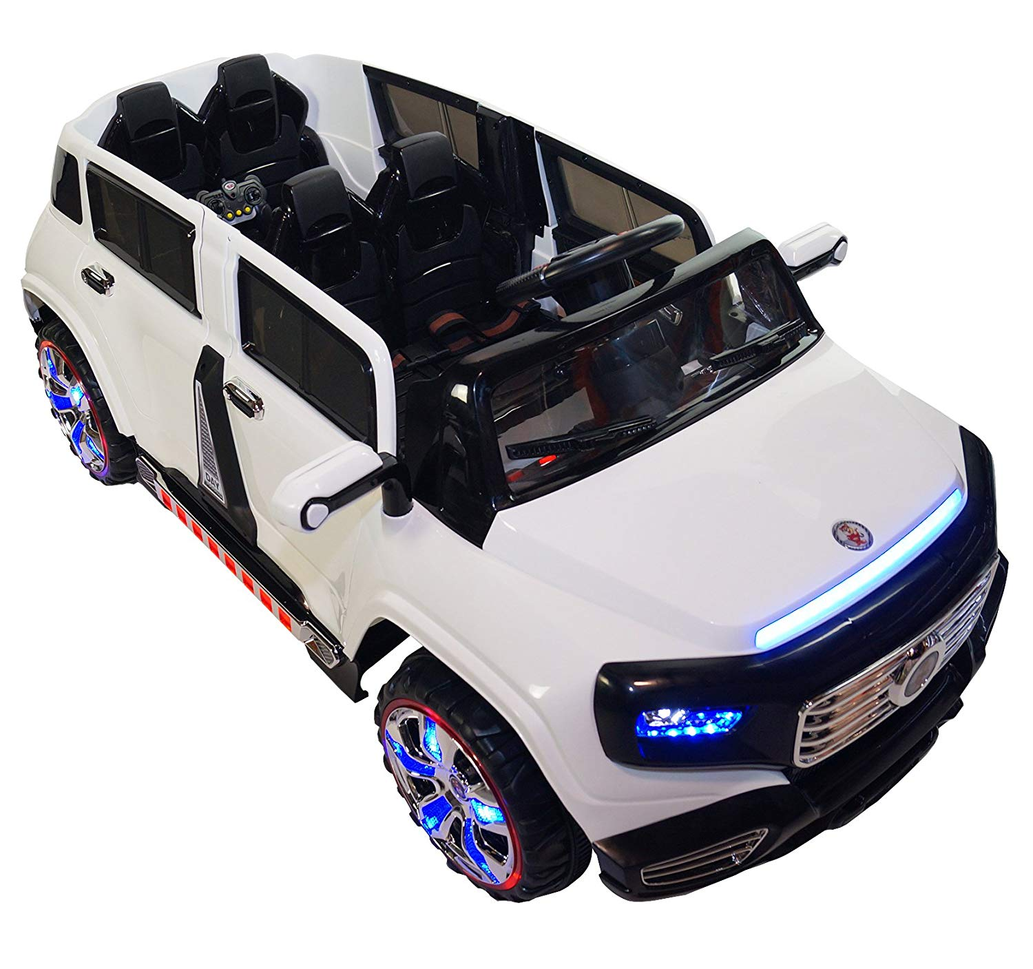 Two-Seater 4-Door Premium Ride On Electric Toy Car For ...