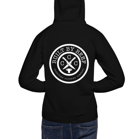 Built By BEEF Unisex Hoodie - carnivoreclothingcompany
