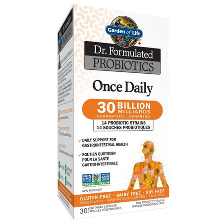 Probiotiques Once daily 30 milliards - 30 capsules