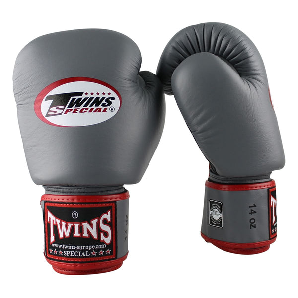 Twins BGLV3 Air Gri Boks Eldiveni-Twins-FightShopTurkey