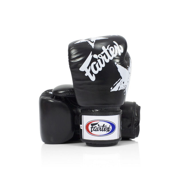 Fairtex Black Nation Boks Eldiveni-Fairtex-FightShopTurkey