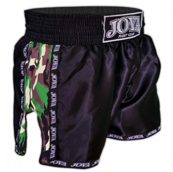 JOYA KICKBOXING SHORT CAMO GREEN