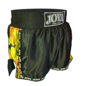 KİCKBOXİNG SHORT CAMO YELLOW