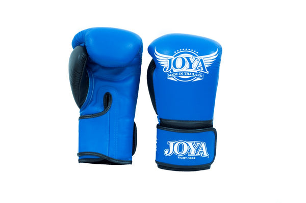 JOYA POWER MAX GLOVE LEATHER PRO THAİ BLUE-Joya-FightShopTurkey