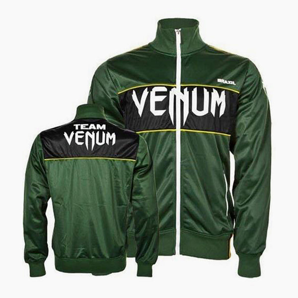 Venum 'Team Brazil' Polyester Ceket-venum-FightShopTurkey