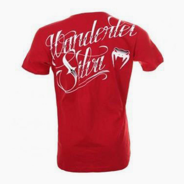 Venum 'Wanderlei The Axe Murderer Silva' T-Shirt / Kırmızı-venum-FightShopTurkey