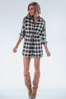 Plaid Perfect Shirt Dress