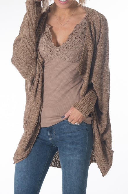 Drop Sleeve Cardigan